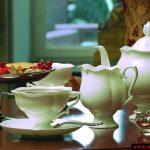 beyaz sade çay takım modeli