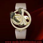 cartier kartal figürlü pırlanta saat modeli