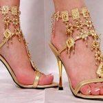 dore aksesuarlı ayakkabı modeli