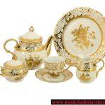 dore beyaz çay takımı modeli