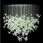 kelebek figürlü avize modeli