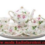 minik meyveli çay takımı modeli