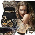 siyah straplez gece elbise kombin modeli