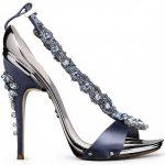 soğuk mavi taşlı stiletto modeli