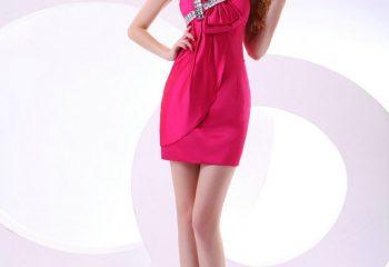 Renkli Mini Gece Elbise Modelleri