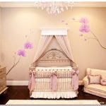 krem rengi dekoratif kız çocuk odası
