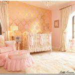 pembe dore kız çocuk odası