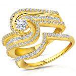 sipral model sarı altın yüzük modeli