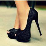 Trend Burnu Açık Ayakkabı Modelleri