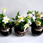 testi figürlü dekoratif vazo modeli