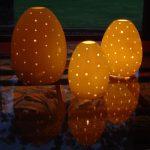 yumurta figürlü fener modeli
