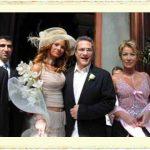 Mehmet Ali Erbil ile Tuğba Coşkun'un evlilik resmi