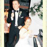 Mehveş Emeç ile Birol Özalp'in evlilik resmi