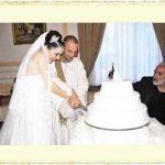 Nil Karaibrahimgil ile Serdar Erener'in evlilik resmi