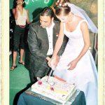 Ozan Orhon ile Yeşim Eçetin'in evlilik resmi