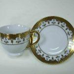altın yaldız işlemeli türk kahvesi modeli