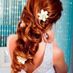 kızık uzun bukleli gelin saçları