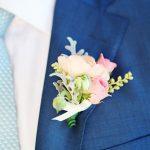çiçekli damat yaka çiçek örnekleri