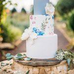 şık ve modern düğün pastaları
