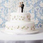 gelin damat düğün pastası