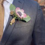 pembe damat yaka çiçeği