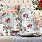 karaca vintage serisi porselen takım