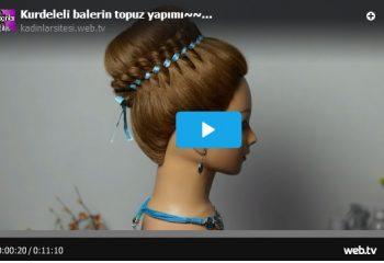 Kurdeleli Balerin Topuz Yapımı – Videolu Anlatım