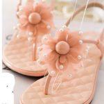 pudra pembesi sandaler modeli