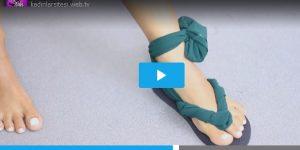 Sandalet Yapımı – Videolu Anlatım