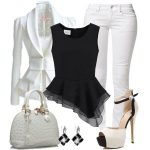 siyah beyaz ve kombini